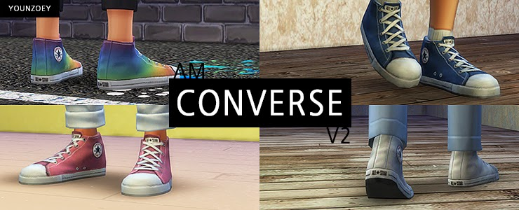 Converse Sneakers for Males & Females by YoungZoey