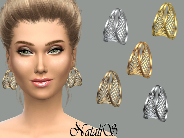 NataliS_Cage hoop earrings FT-FA