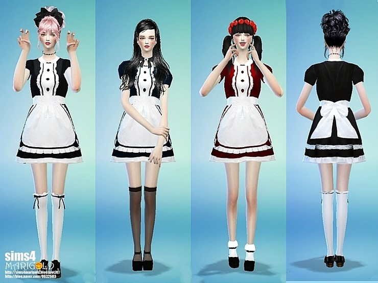 Maid onepiece by Marigold