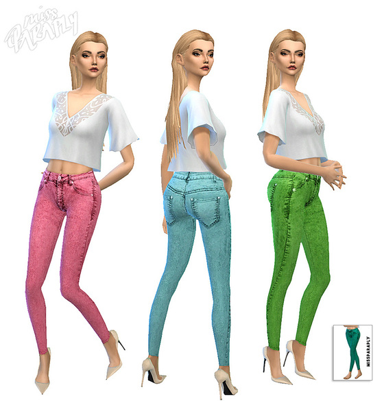Accessory Jeans for Females by MissParaply