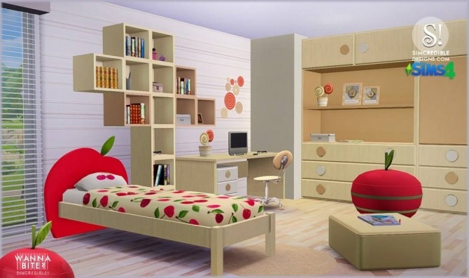 SIMcredible! Designs 4  Furniture, Kidsroom : Wanna Bite? kids room