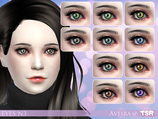 Eyes N3 by .Aveira