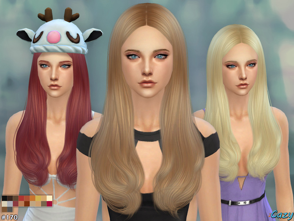 Jodie Hairstyle - Female by Cazy