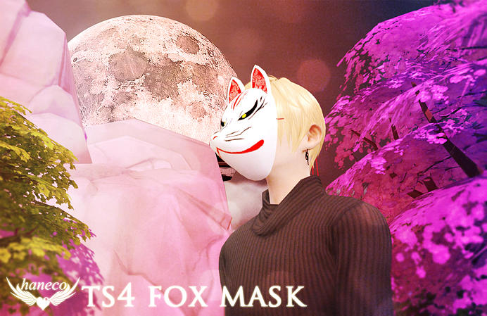 Fox Mask by Haneco
