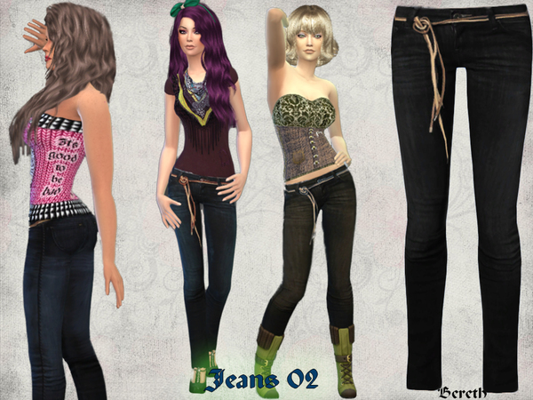 Jeans 02 by Bereth