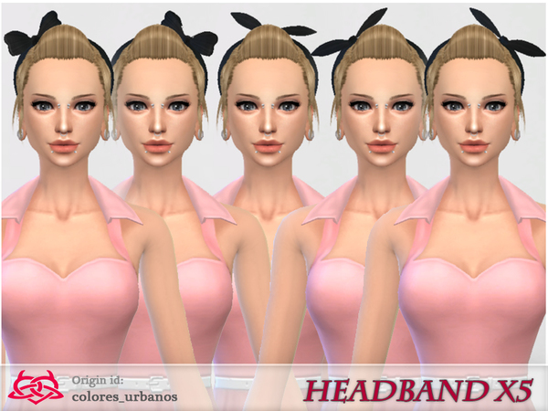 headband x 5 in 1 by Colores Urbanos