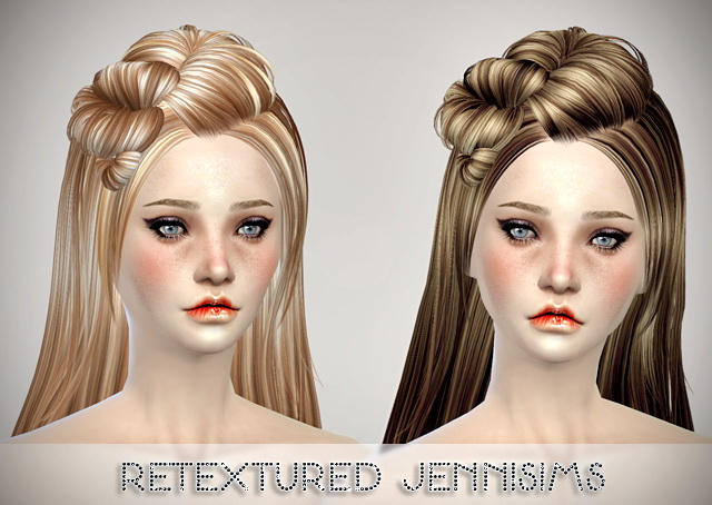 Butterflysims 078 Hair retextured by Jenni Sims