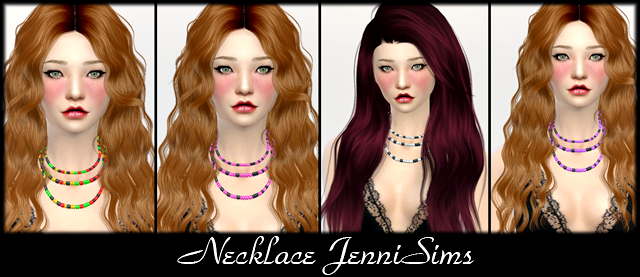 Necklace by JenniSims