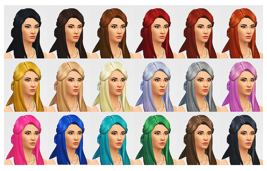 LumiaLover Sims Sawyer Hair for Females