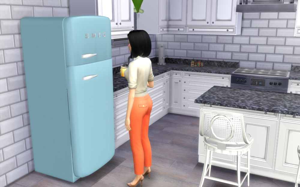 TS3 Fridge Conversion by WestwoodSims