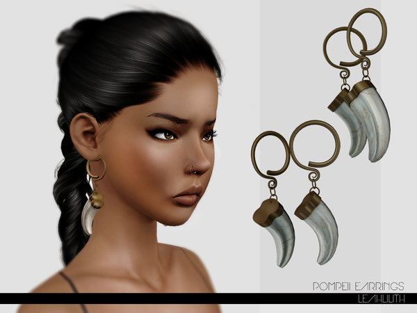 LeahLillith Pompeii Earrings by Leah Lillith