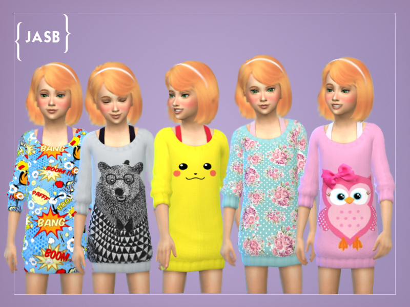 Recolours of Get tow work Jumper for girls BY bobojellycatface