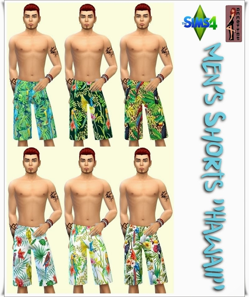 "Men's Shirts & Shorts ""Hawaii"" by Annett85"