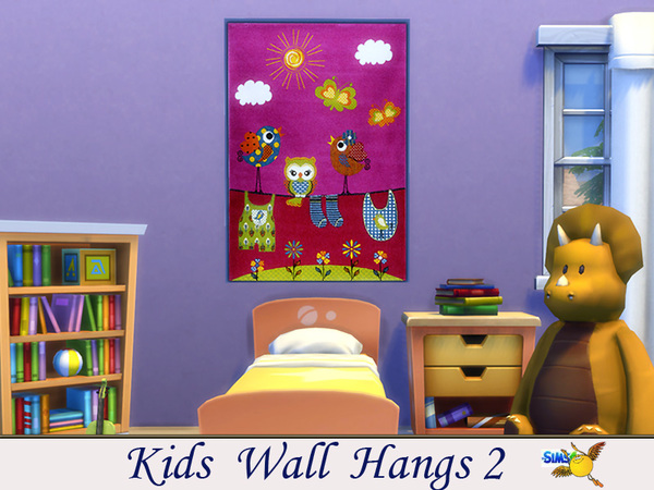 evi kids wall hangs