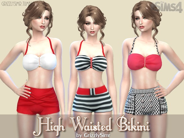 High Waisted Bikini by GrizzlySimr