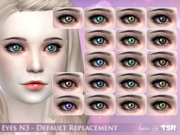 Eyes N3 - Default replacement by .Aveira