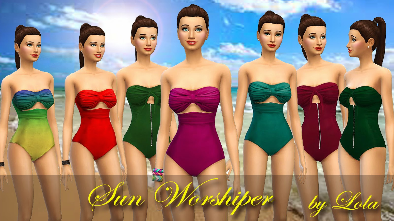 Sun Worshiper Swimsuit by Lola