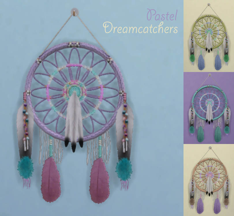 Pastel Dreamcatchers by StorytellerSimmer