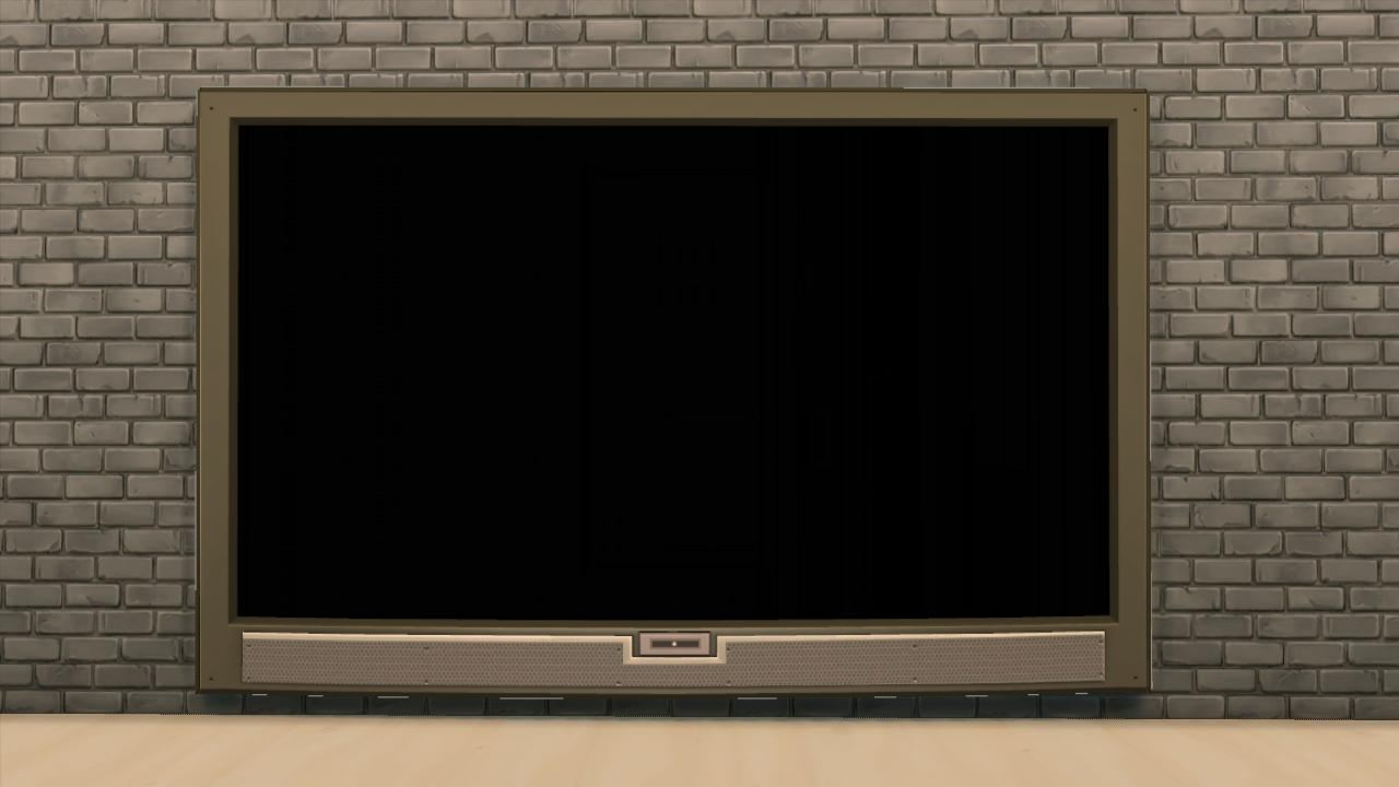 TS3 4x1 Wall Show Television by AdonisPluto