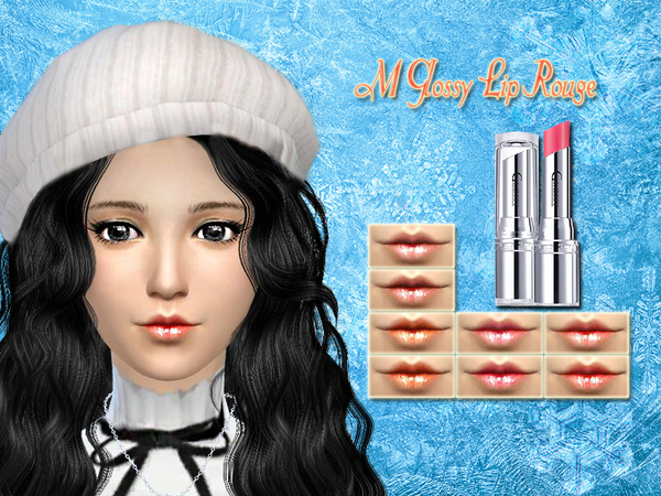 M Glossy Lip Rouge by SakuraPhan