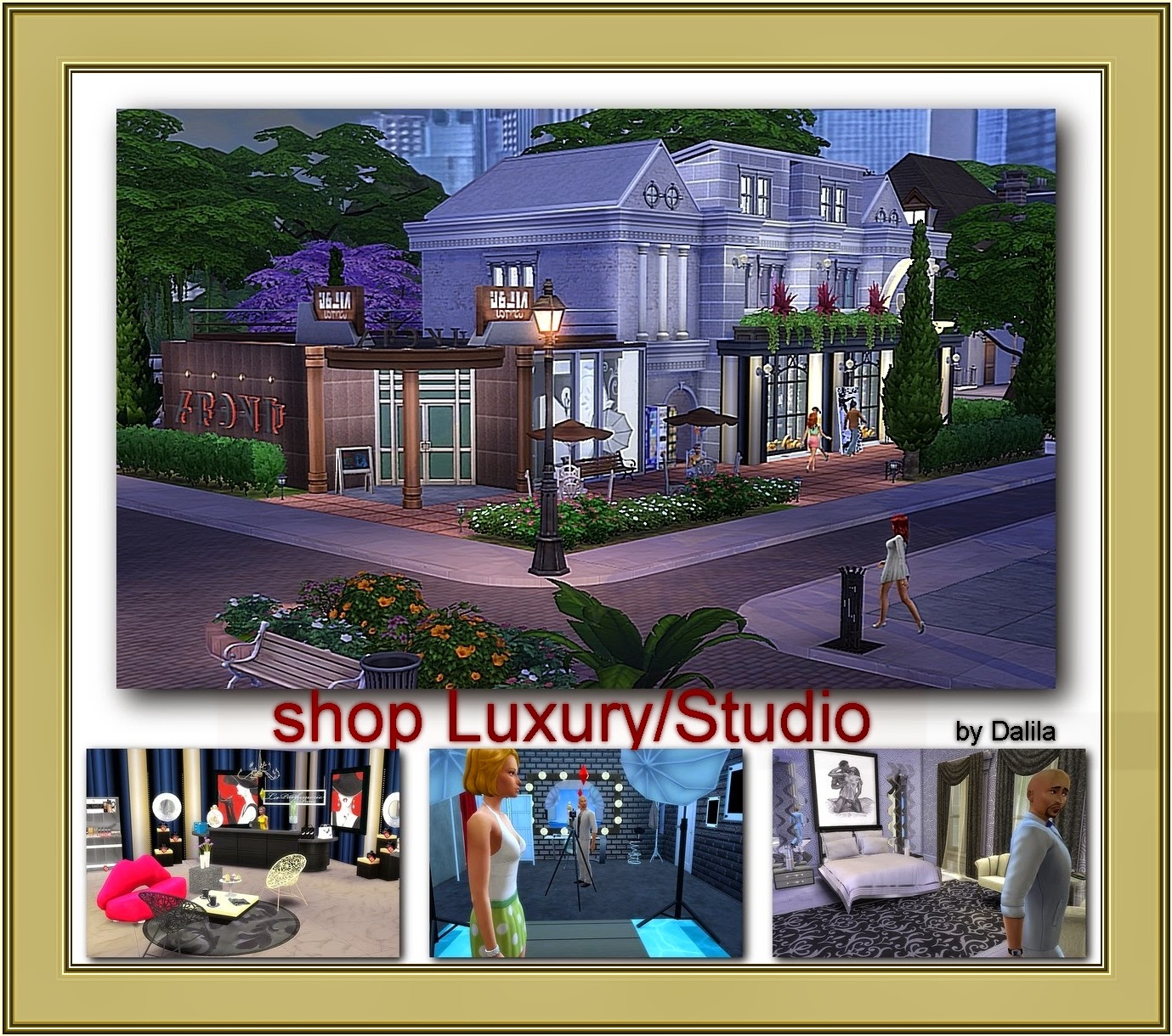 Shop luxury/Studio by Dalila