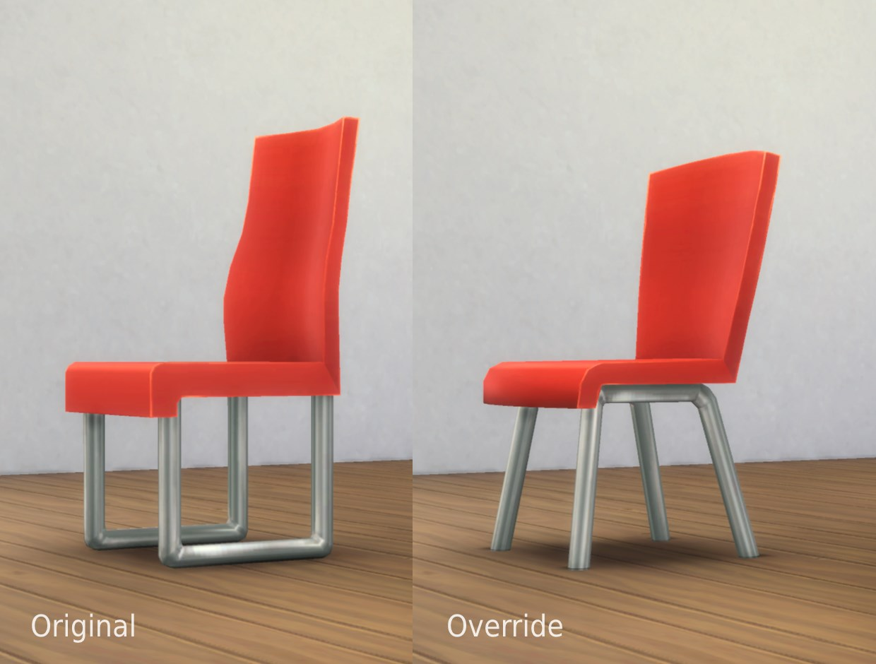 Commissioner Chair Mesh Override by plasticbox