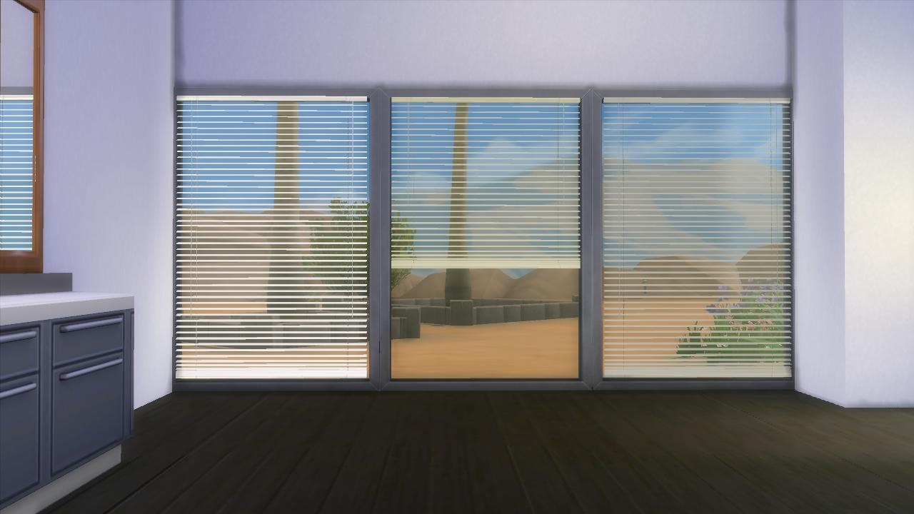 Horizontal Curtain Blinds by AdonisPluto