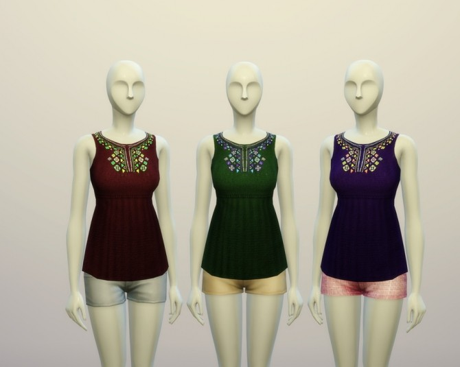 Rusty Nail  Clothing, Female : Camisole 6 colors