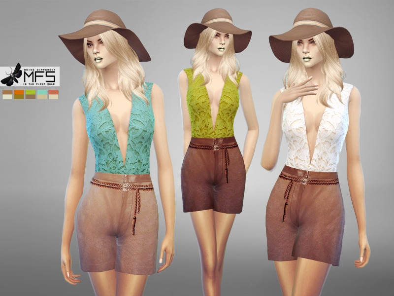 MFS Amelia Outfit BY MissFortune