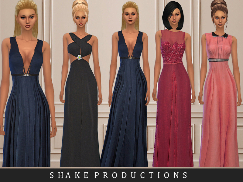 ShakeProductions SET22 Gown Set  BY ShakeProductions