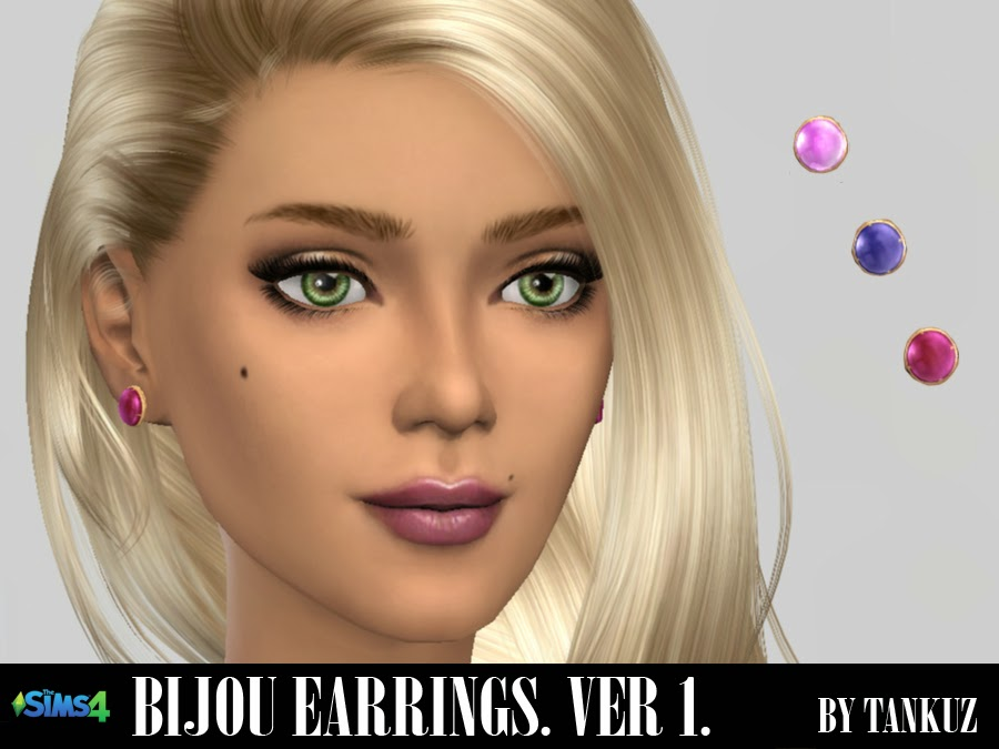 Bijou Earrings (Ver. 01) by Tankuz