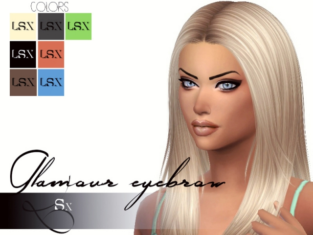 Glamour eyebrow (Female) от LSX
