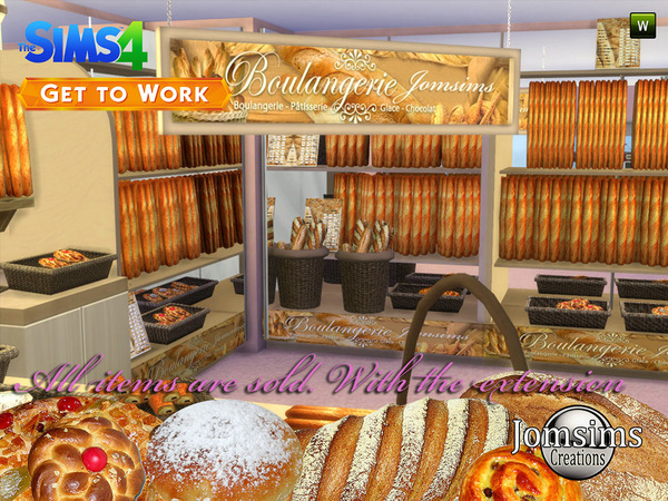 The bakery 2015 sims 4 by jomsims