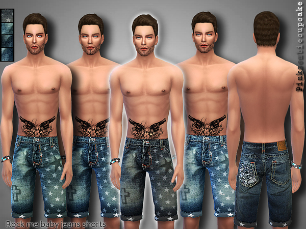Rock Me Baby!Jeans Shorts by Pinkzombiecupcakes