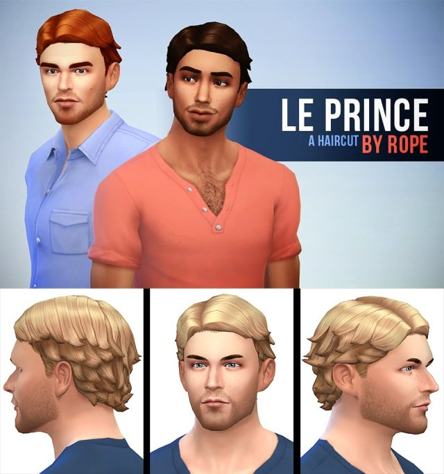 Le Prince Hair for Males by Rope