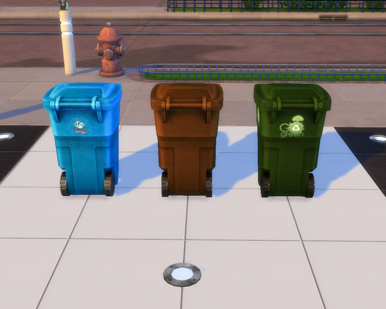 Go Green Recycle Bins by mojo007