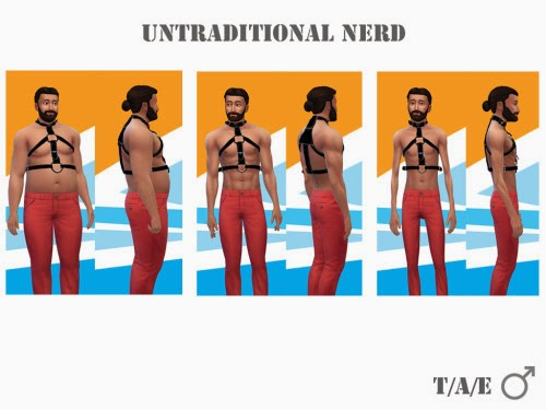Leather Harness for Males by UntraditionalNerd