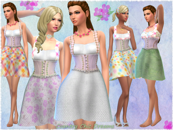 Country Chic Dream Dress Set by alin2