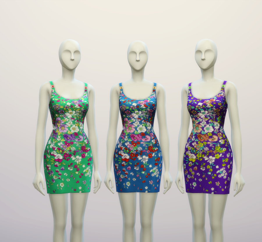 Dress Versace (3 Colors) by Rusty Nail