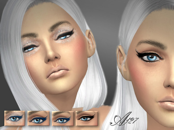 Crystals eyeliner by altea127