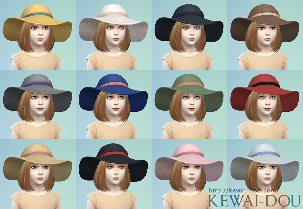 Sunhats for Children by Kewai-Dou