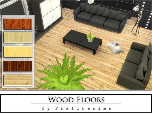 Wood Floors by Pralinesims