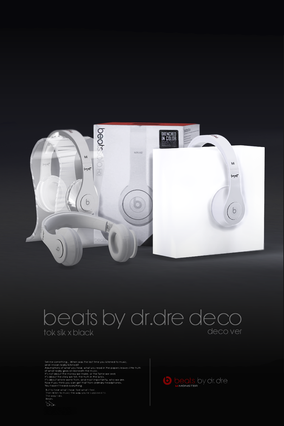 beats by dr dre Decor by BlackLe