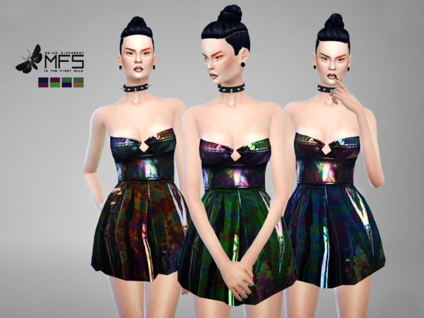 MFS Metallic Dress by MissFortune