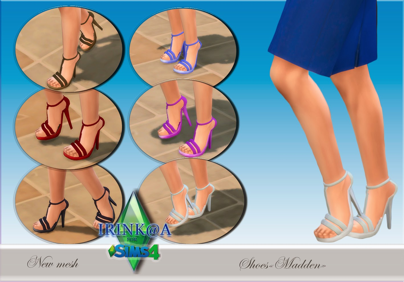 Shoes for Teen - Elder Females by Irink@a