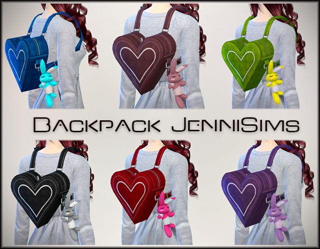 Backpack by JenniSims