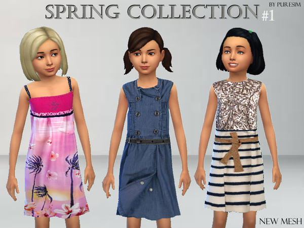 Dress Collection for Girls by Puresim