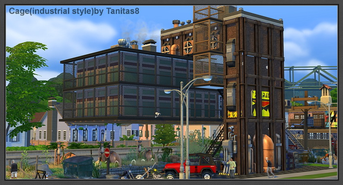 Caged Industrial Lot by Tanitas8