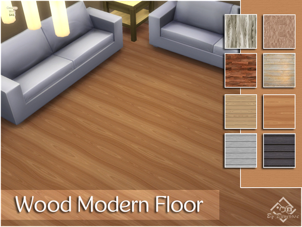 Wood Modern Floor by Devirose