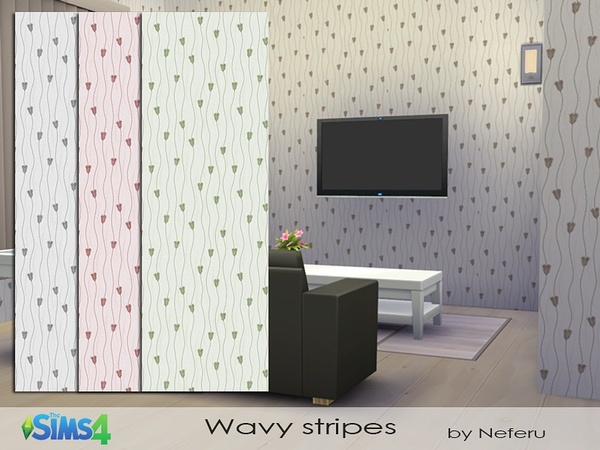 Wavy stripes by Neferu